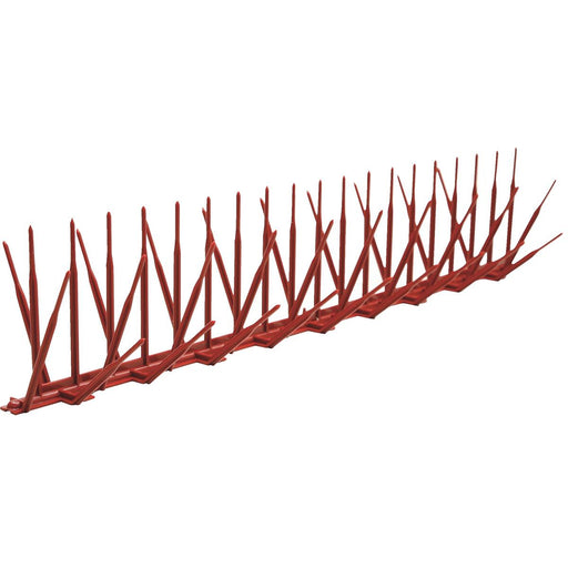 "Polycarbonate Bird Spikes, 50'L x 5""W"