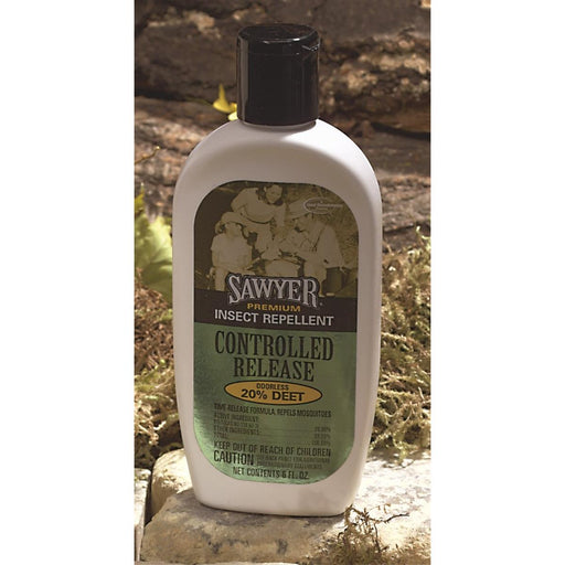 Controlled-release Insect Repellent Lotion