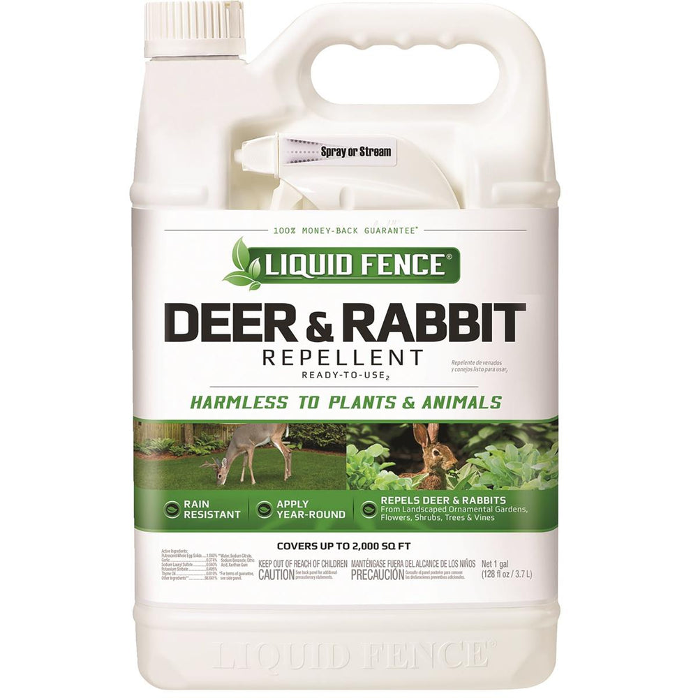 Liquid Fence Gallon Ready-to-Use Deer and Rabbit Repellent