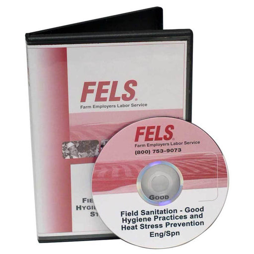 Bilingual Field Sanitation Training DVD