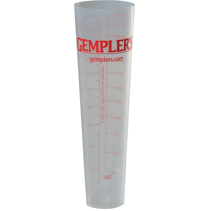 GEMPLER'S 10-ounce Precision Polypropylene Measuring Tube