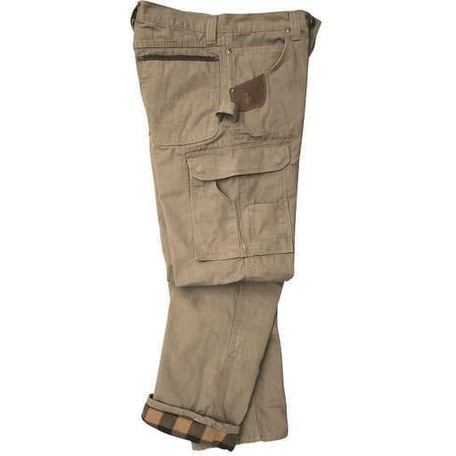 Riggs Workwear® Flannel-Lined Ripstop Cotton Cargo Pants