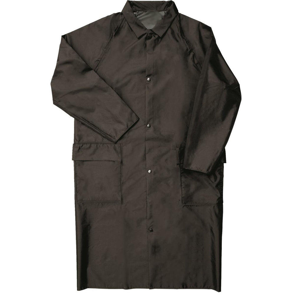 Air Weave® Breathable Foreman's Raincoat, Black