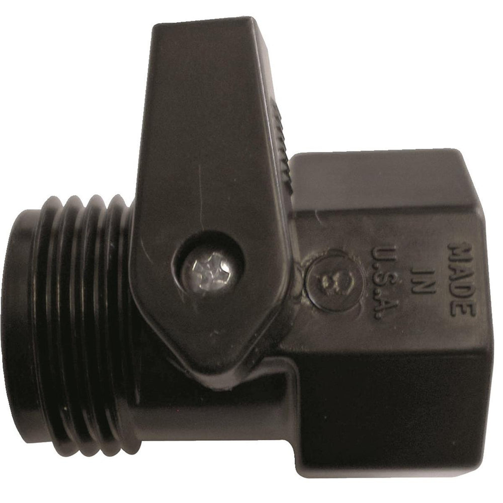 DRAMM Plastic Shutoff Valve for Watering Extension Handle
