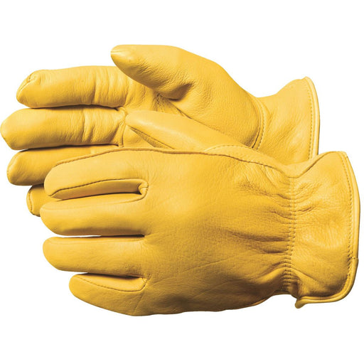 Insulated Deerskin Gloves, XL