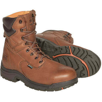 "Timberland Pro 8""H Alloy Toe Waterproof Work Boots"