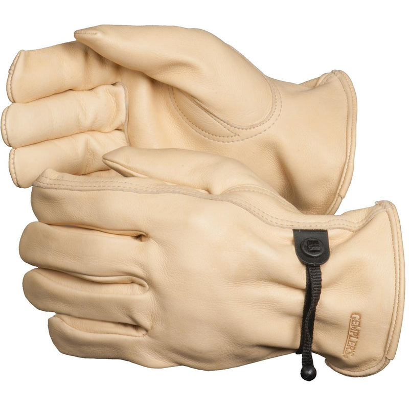 GEMPLER'S Cowhide Gloves with Drawstring Wrist