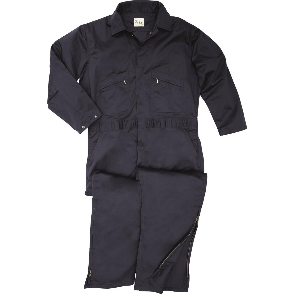 Zip-to-the-Knee Unlined Coveralls