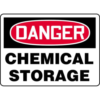 Danger / Chemical Storage Sign