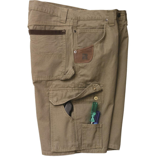 Riggs Workwear Ranger Shorts, Bark