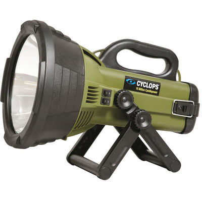 Cyclops® Super-Bright Rechargeable Spotlight