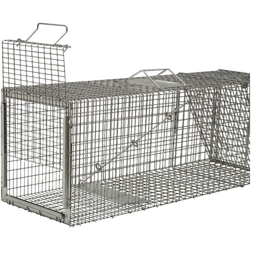 "Live Trap with Sliding Rear Door, 36""L x 11""W x 12""H"