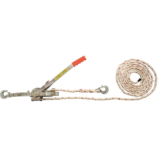 Unlimited-Length Rope Puller, 3/4 ton