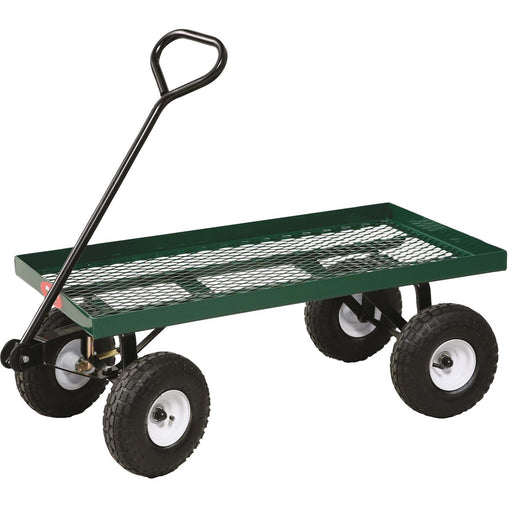 Metal Deck Nursery Wagon