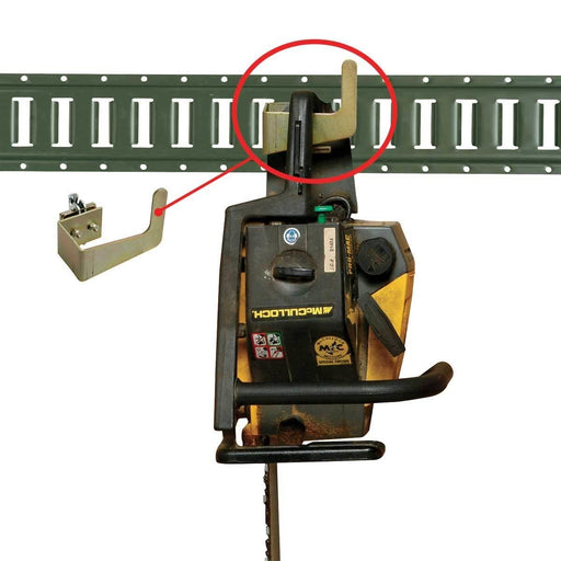 E-track Chainsaw Bracket