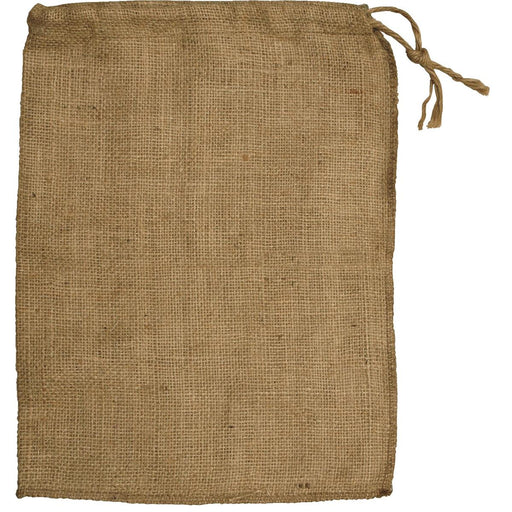 Burlap Bags with Drawstring, Pkg. of 25