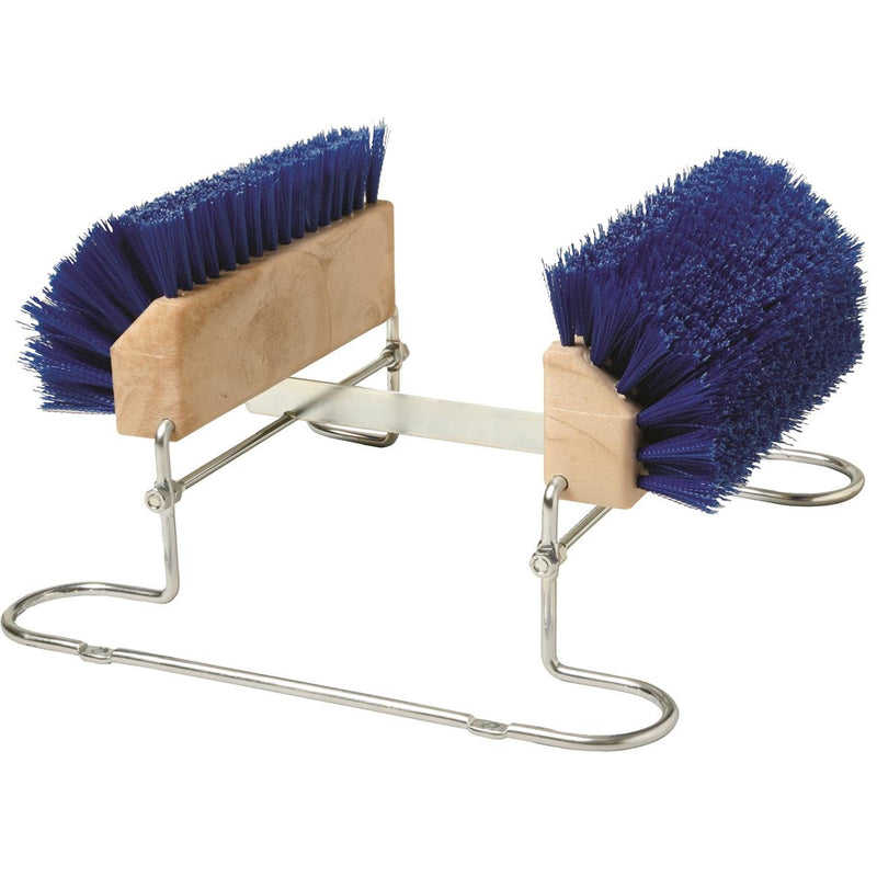 Deluxe Boot and Shoe Brush w/Scraper