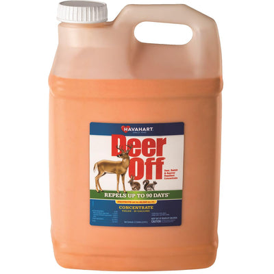 DEER OFF Deer, Rabbit and Squirrel Repellent Concentrate, 2.5 gal.