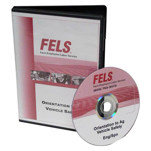 Bilingual Orientation to Ag Vehicle Safety Training DVD