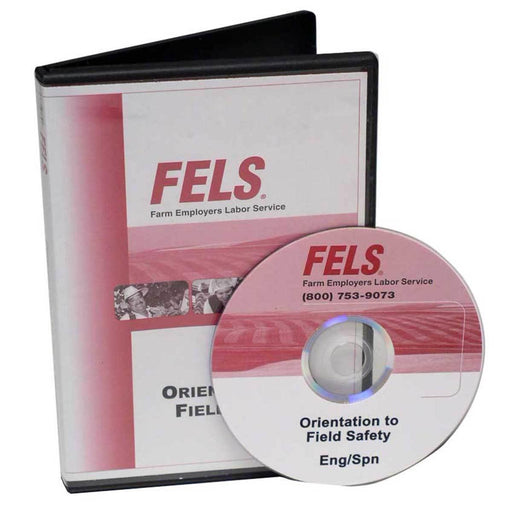 Bilingual Orientation to Field Safety Training DVD