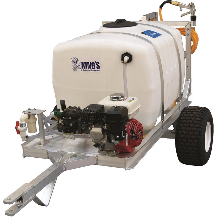 100-gal. Two-Wheel Trailer Sprayer with Boomless Nozzle