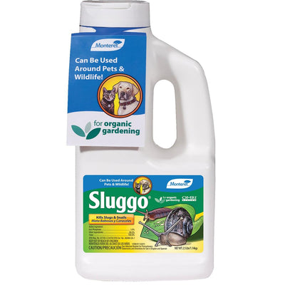 Monterey Sluggo Slug and Snail Bait, 2.5-lb. Bottle