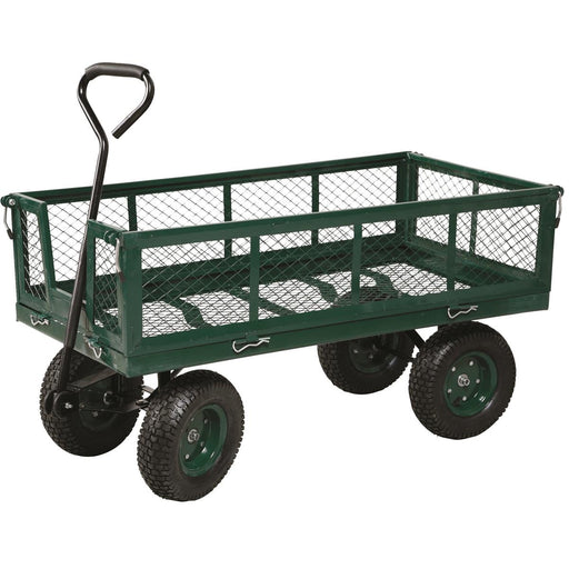 Metal Nursery Wagon with Folding Sides