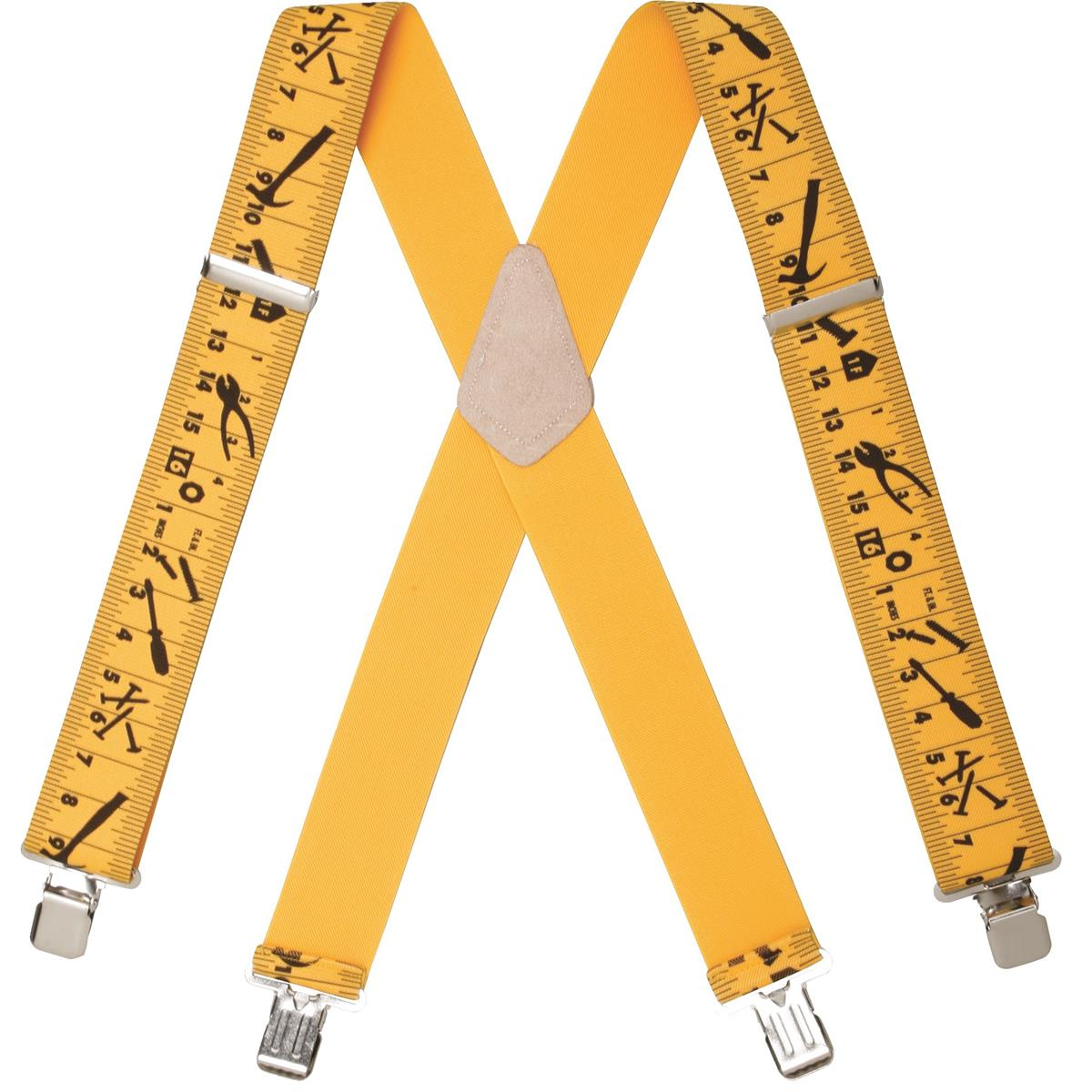 Heavy Duty Clip On Ruler Suspenders Gempler S
