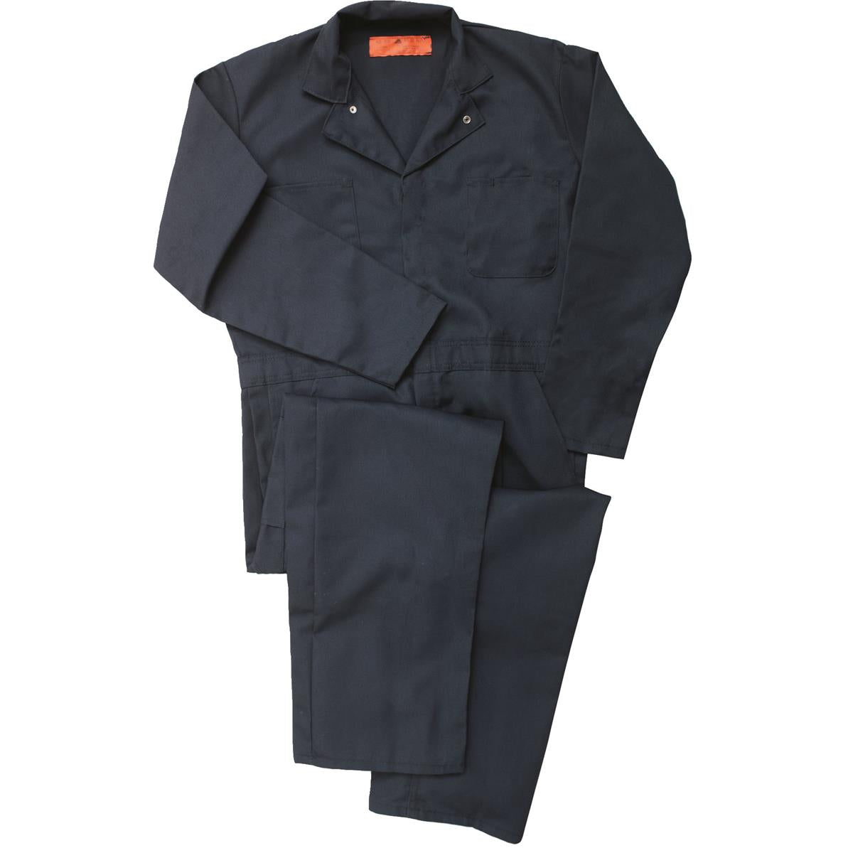 Red Kap Long-sleeve Poly/Cotton Twill Coveralls
