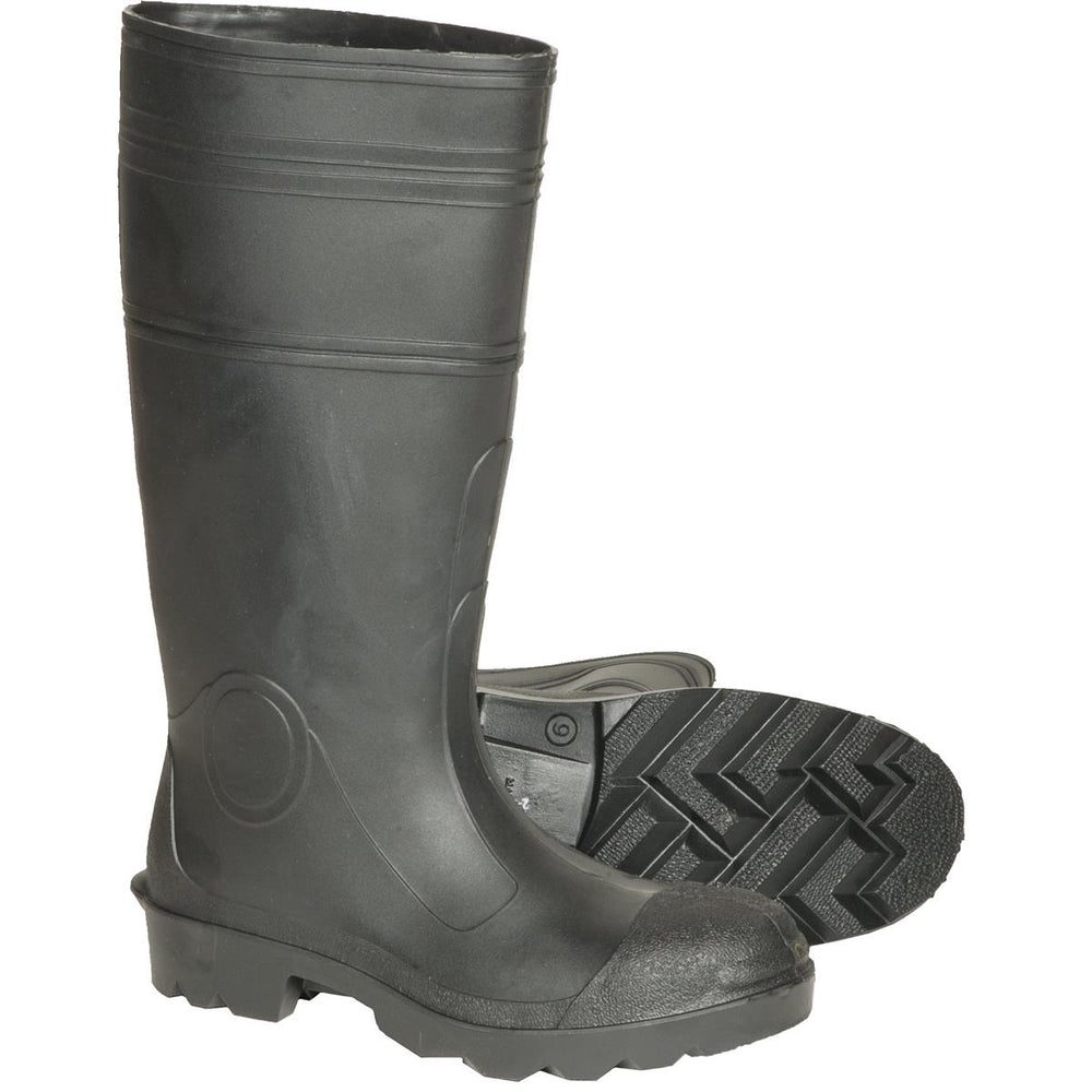 "DUNLOP 16""H PVC Chore Boots with Steel Toe"