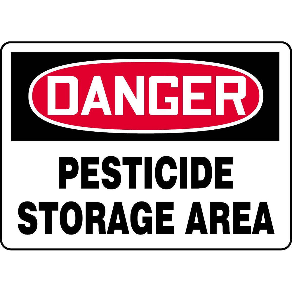 Danger / Pesticide Storage Area Sign