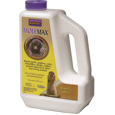 Molemax Mole and Vole Repellent, 5-lb. Shaker Bottle