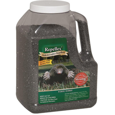 Repellex Mole and Gopher Repellent, 7-lb. Granular