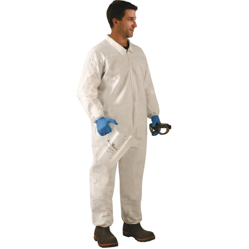 MicroMax® Unhooded Coveralls with Elastic Wrists and Ankles