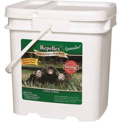 Mole and Gopher Repellent, 24-lb. Granular
