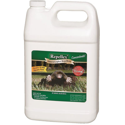 Repellex Mole and Gopher Repellent, 1-gal. Concentrate