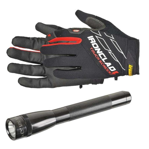 FREE GIFT Maglite® LED Flashlight and Ironclad Touchscreen Gloves