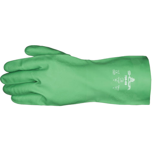 "Showa 13""L, 15-mil, Biodegradable Nitrile Gloves"