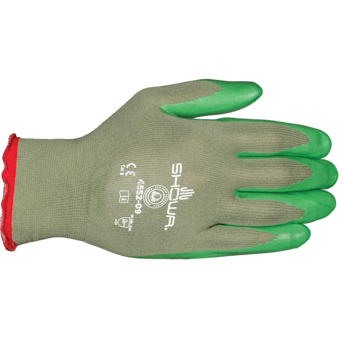 Showa Eco Best Technology® Biodegradable Nitrile-Coated Gloves