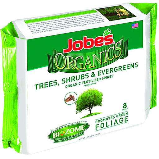Jobe's® Organics® Organics Fertilizer Spikes, Pkg. of 8