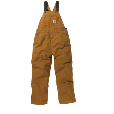 Carhartt Kid's Duck Washed Bib Overall Youth Sizes 8-16