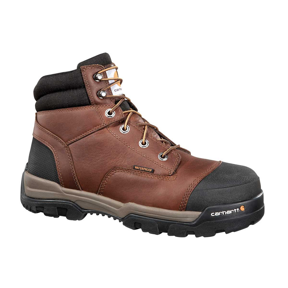 "Carhartt Ground Force 6""H Waterproof Plain Toe Work Boot"