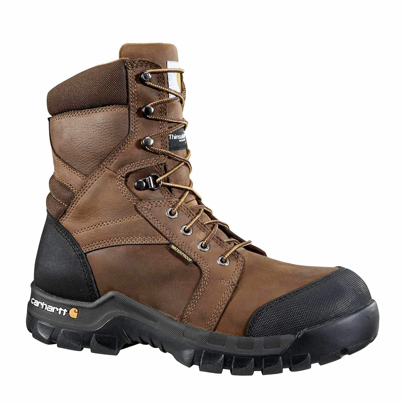 "Carhartt Rugged Flex 8"" Insulated Composite Toe Boot"
