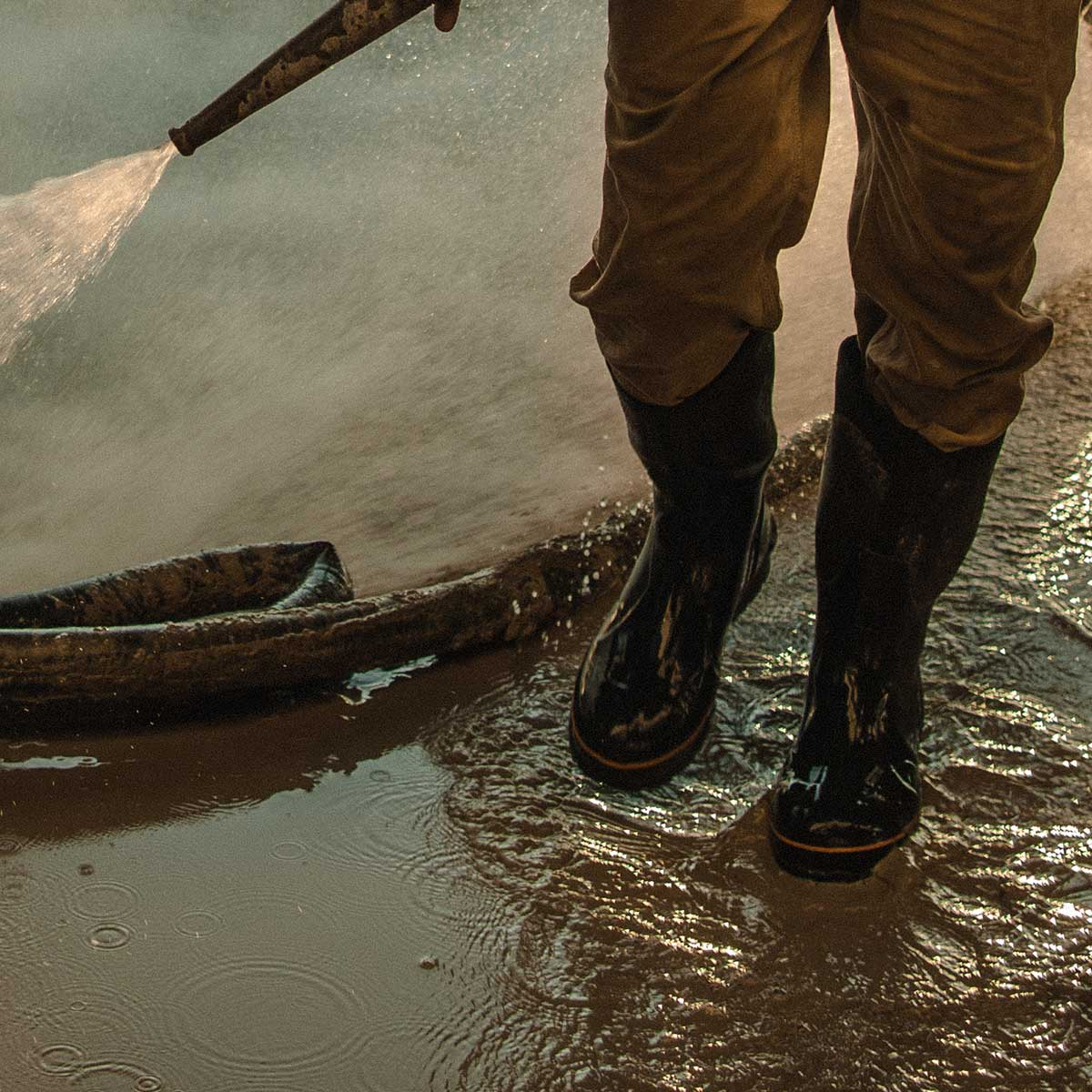 "Carhartt 15"" Waterproof Rubber Boot Safety Toe"