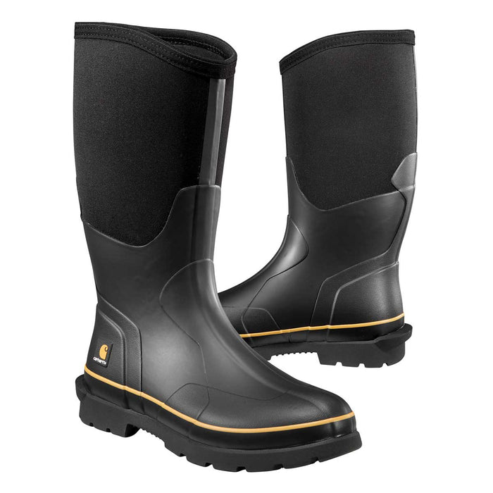 "Carhartt 15"" Waterproof Rubber Boot Plain Toe"