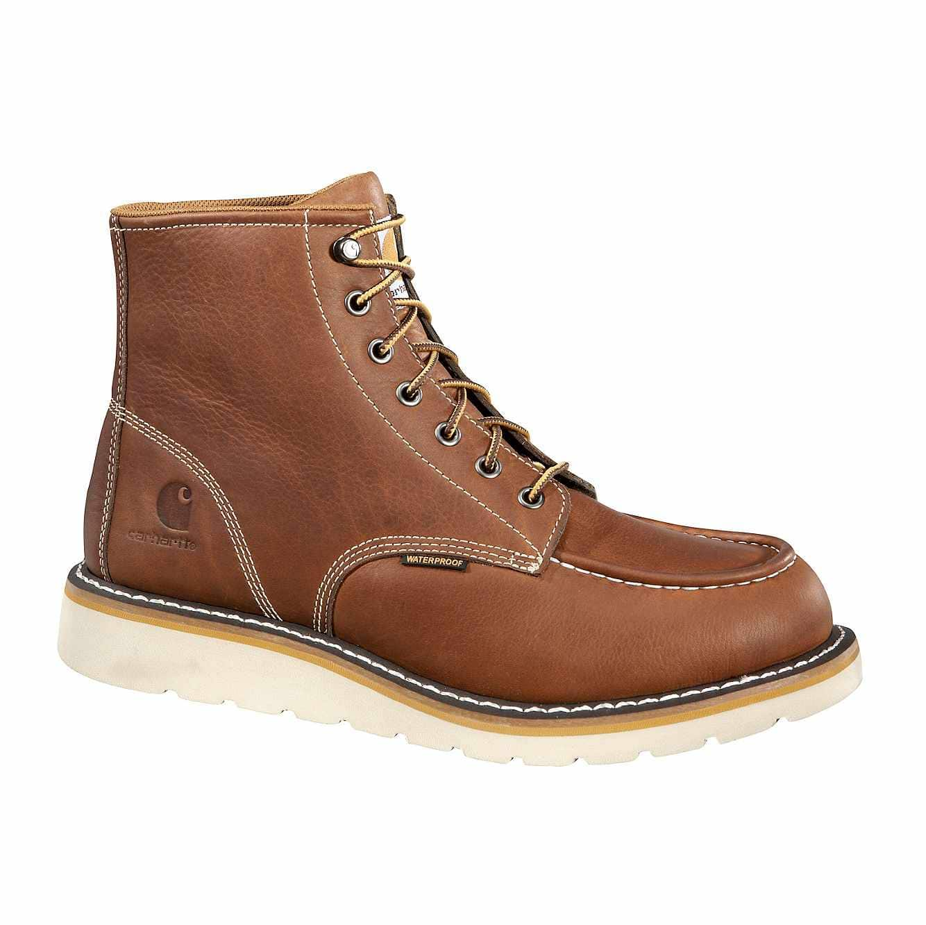 "Carhartt 6"" Steel Toe Tan Wedge Boot"