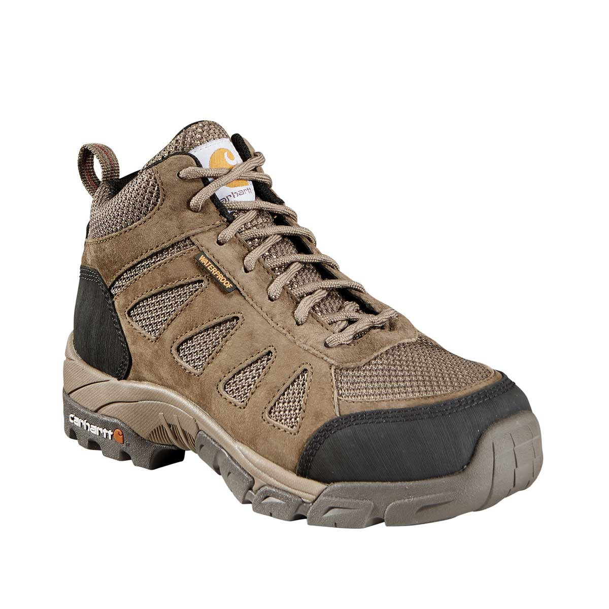 "Carhartt Women's Lightweight 6""H Plain Toe Waterproof Hiker Boots"