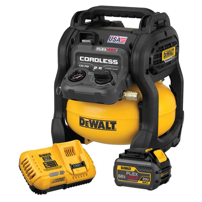 DEWALT 60V MAX* FLEXVOLT® 2.5 Gallon Cordless Air Compressor Kit