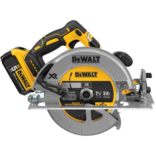 DeWalt 20V Max Brushless  7 1/4 Circ Saw Kit