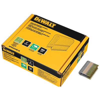DEWALT 9 GA Galvanized Barbed Fencing Staples 2 IN 960 pk